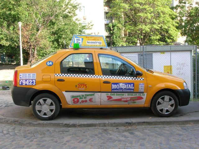 publicitate taxi buzau