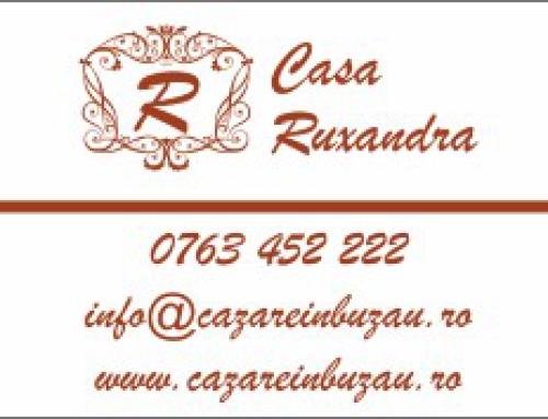 Carti de vizita Casa Ruxandra