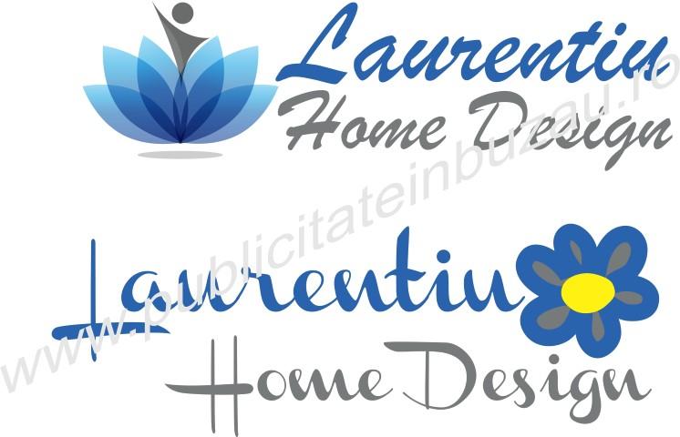 logo laurentiu home design